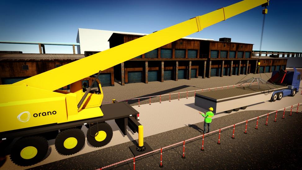 Serious game en réalité virtuelle sur la sécurité sur les chantiers