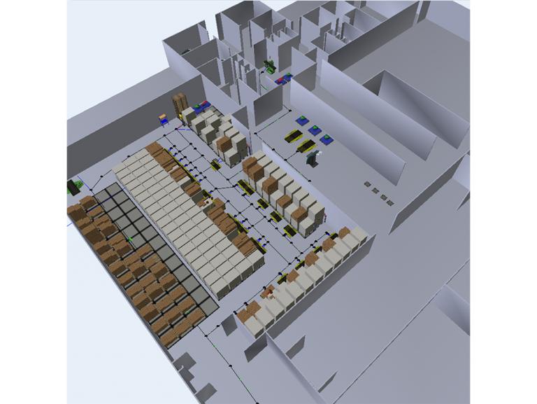 Etude de gestion de flux sur le site de LESSAY dans le cadre du projet de réaménagement du stockage réfrigéré et de la procédure de piking des soupes.