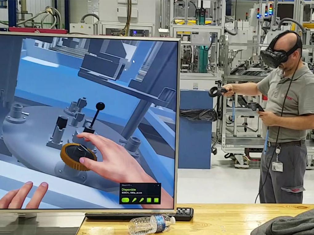 Réalité virtuelle OREKA Ingénierie