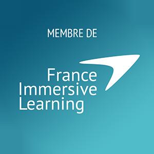 Nous faisons parti du réseau France Immersive Learning