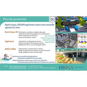 OREKA Ingénierie opens a new agency in Caen