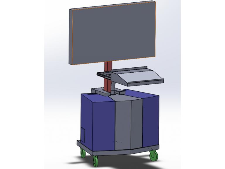 Schéma box 3D pour NAVAL GROUP