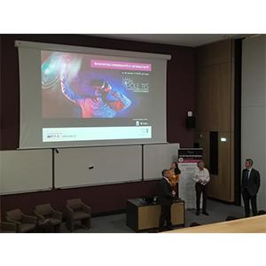 OREKA Ingénierie's presentation in meeting immersivité & intéractivité of Caen