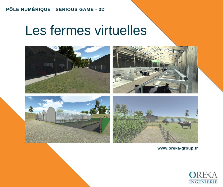 SERIOUS GAME réalité virtuelle sur la découverte des fermes virtuelles