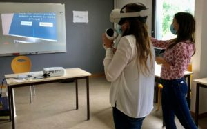 Démonstration réalité virtuelle